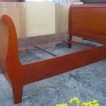 Double Sleigh Bed Frame