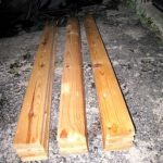 Double SOLID WOOD Bed Slats