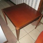 Large Solid Wood Square Table