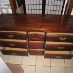 Wood 9-drawer Dresser