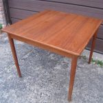 Square Small Teak Table