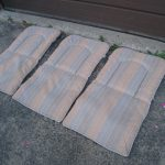 3 Patio Chair Cushions