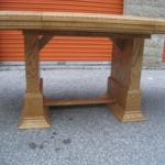 Gorgeous Large Oak Dining Table