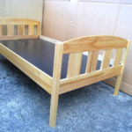 2 Solid Wood Single Beds