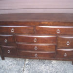 SOLID WOOD 9-drawer Chest