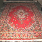 Large wool Area Rug 8 X 11