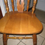 HardWood High Back Chair