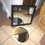 2 small Mirrors